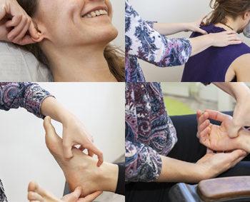 zones reflexes ensemble du corps en reflexologie globale à Lyon