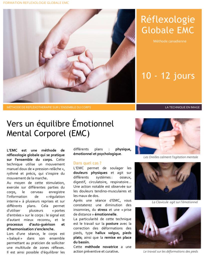 Plaquette Formation EMC Paris